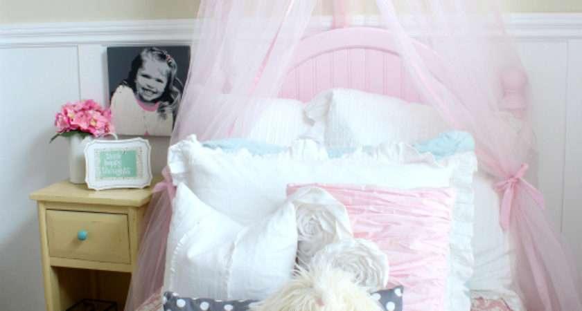 Elegant Timeless Girly Bedroom Makover