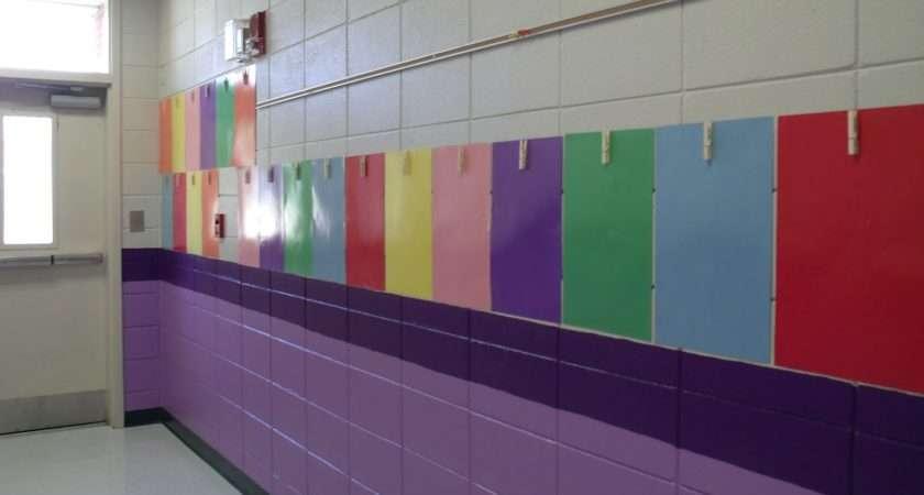 Elementary School Hallway Decorating Ideas Colors Summer
