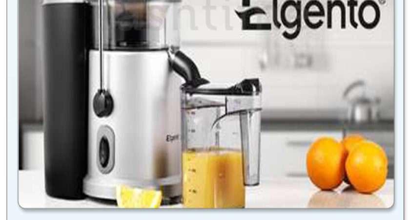 Elgento Electric Professional Whole Fruit Vegetable Juicer