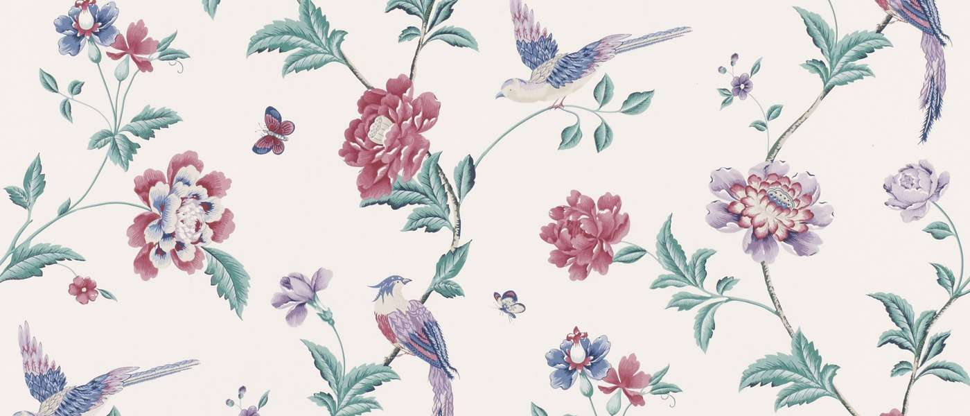 Elveden Cranberry Floral Laura Ashley