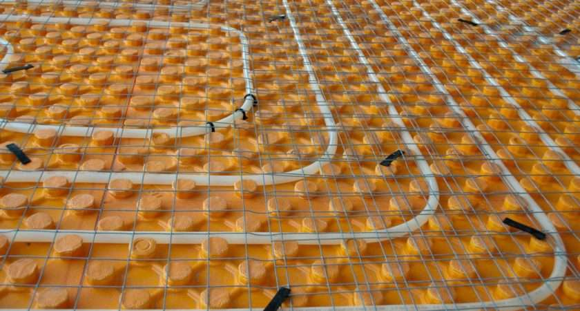 Energy Efficient Underfloor Heating New