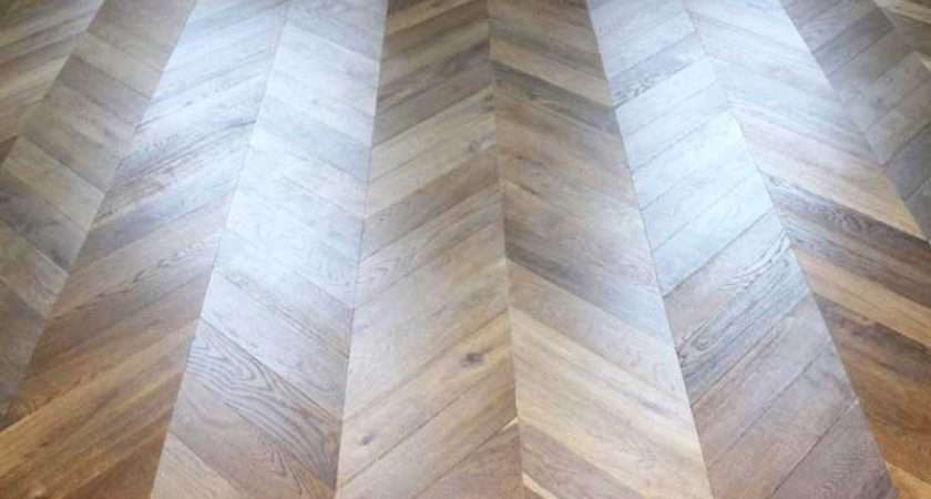 Engineered Chevron Flooring Installation