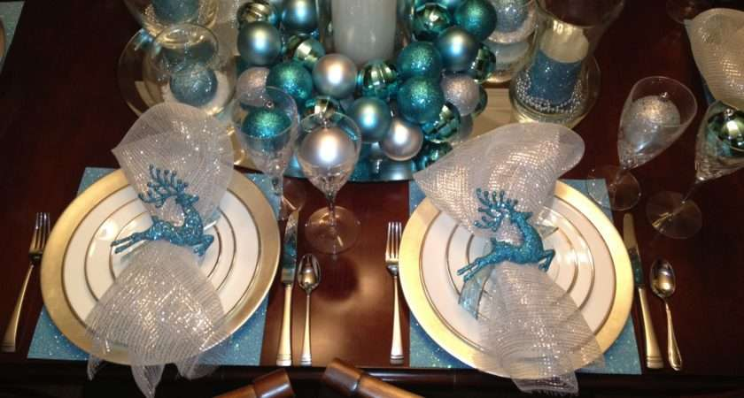 Engineering Life Style Christmas Tablescape Trial Run