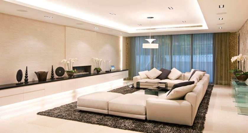 England Million Pound Interior Design Glass Furniture Living Room