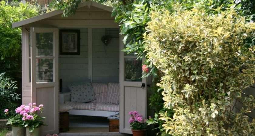 English Country Garden Cabin Summerhouse