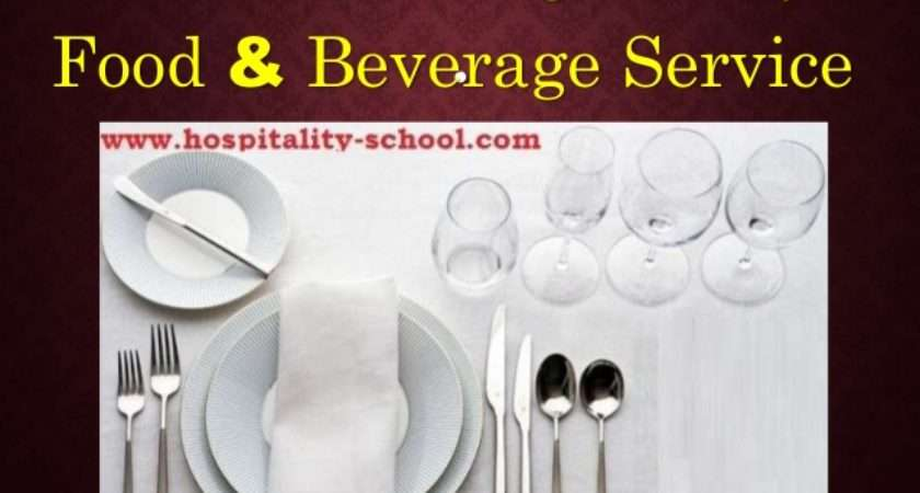 English Food Beverage Restaurant Service Style Ultimate