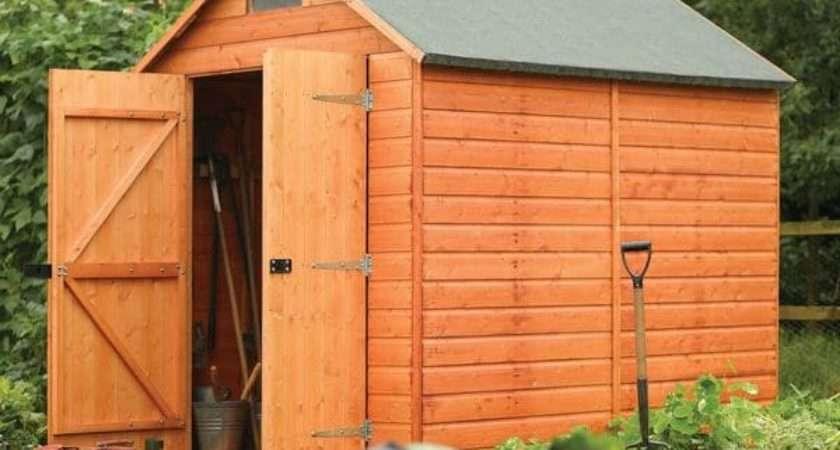 English Garden Wood Storage Shed Shipping