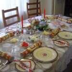 English Service Table Setting
