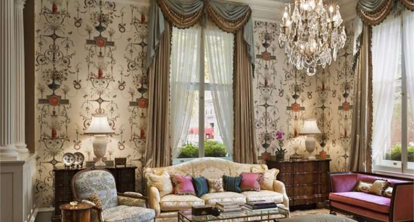 English Style Interior Design Home