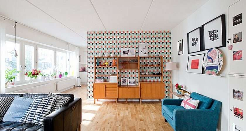 Enlivens Beautiful Living Room Midcentury Modern