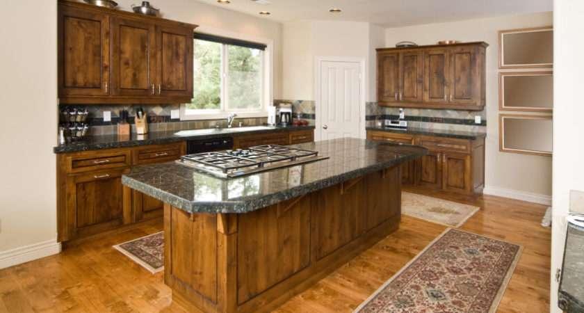 Enticing Kitchens Light Honey Wood Floors
