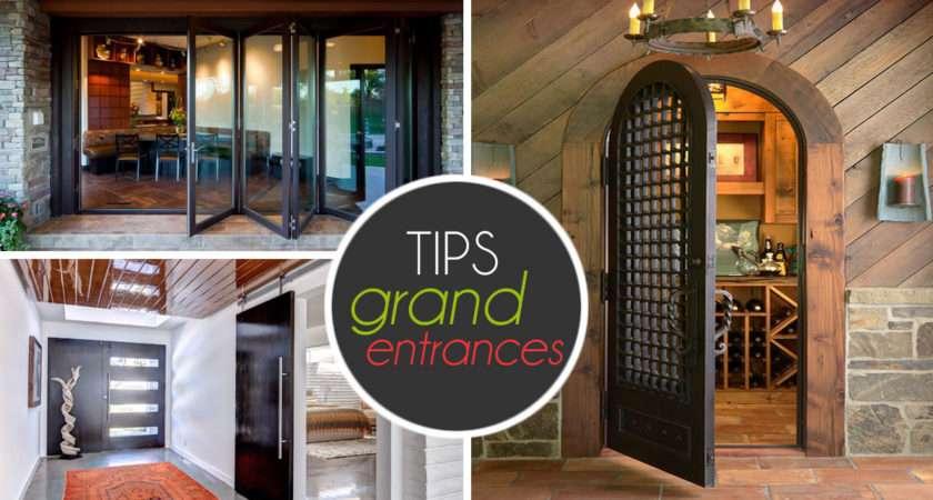 Entrance Decorating Door Designs