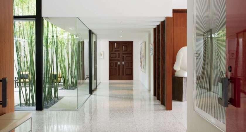 Entrance Hall Brad Dunning Design Tile Floor