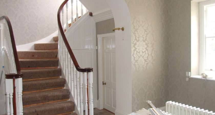 Entrance Hall Pailton Fletcher Decor Painters