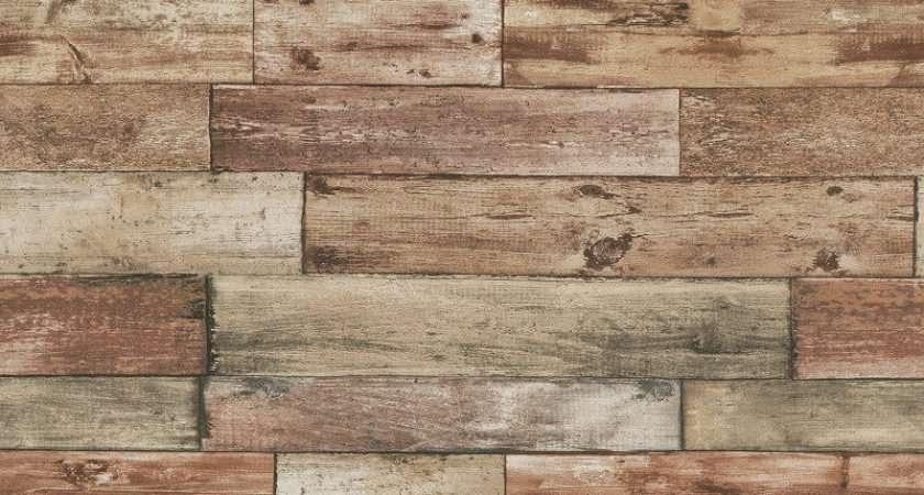 Erismann Authentic Wood Panel Brown