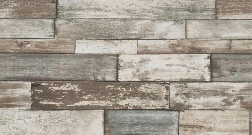 Erismann Authentic Wood Panel Grey