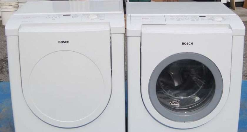 Estate Moving Sale Bosch Washer Electric Dryer