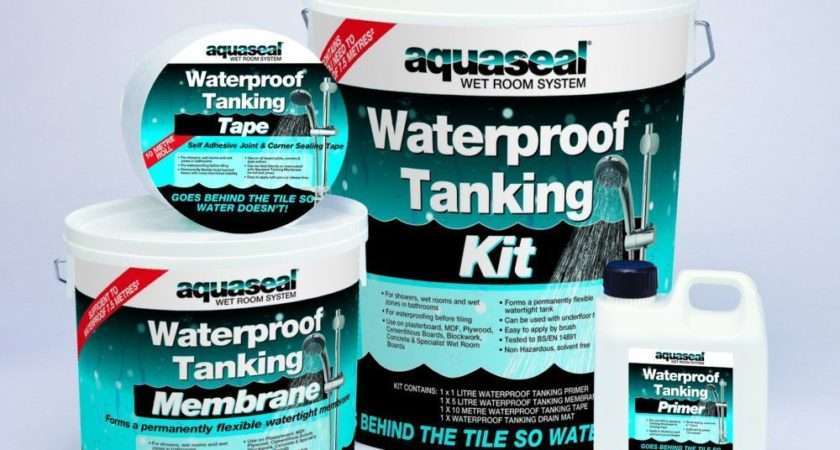 Everbuild Aquaseal Tanking Wet Shower Bath Room Waterproof
