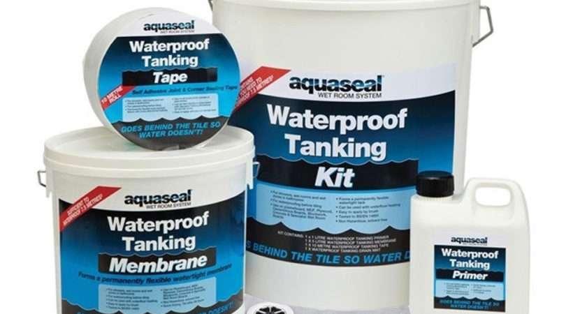 Everbuild Aquaseal Wet Room Shower Bathroom Tanking System