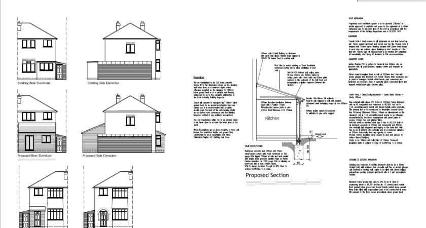 Example Architectural Plans Easyplan Birmingham South
