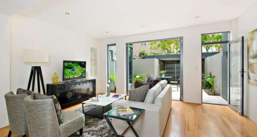 Example Living Dining Kitchen Zone Decorated Modern