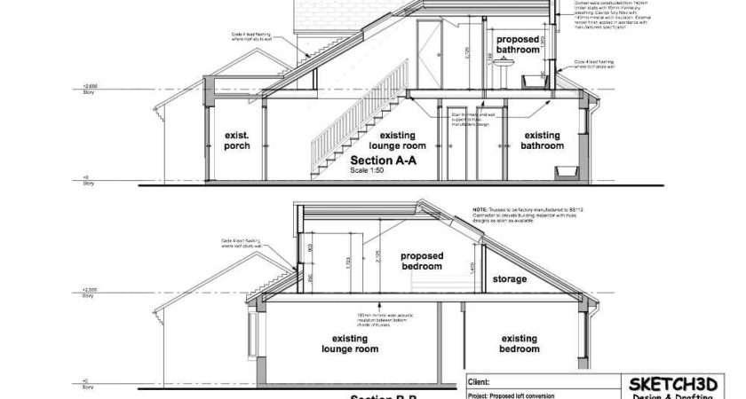 Example Loft Conversion Plan Diy Plans Designs