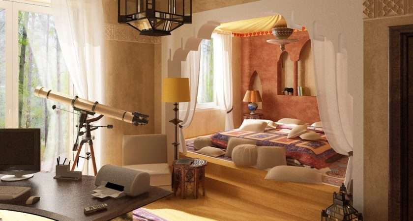 Examples Most Exotic Bedroom Design