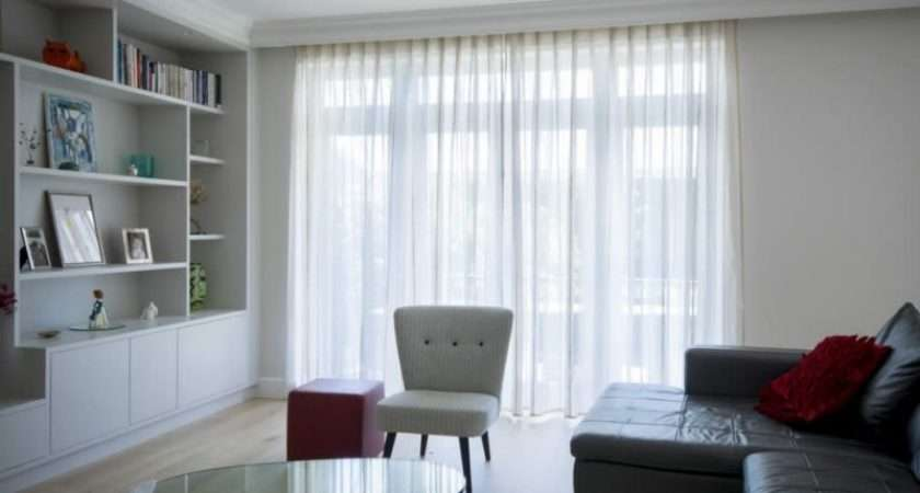 Examples Voile Curtains Large Glazed Area Elise