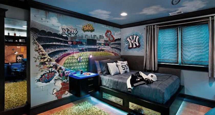 Exciting Teenage Boys Bedrooms Design Ideas Bedroom