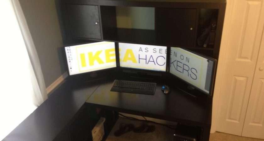 Expedit Desk Hutch Ikea Hackers