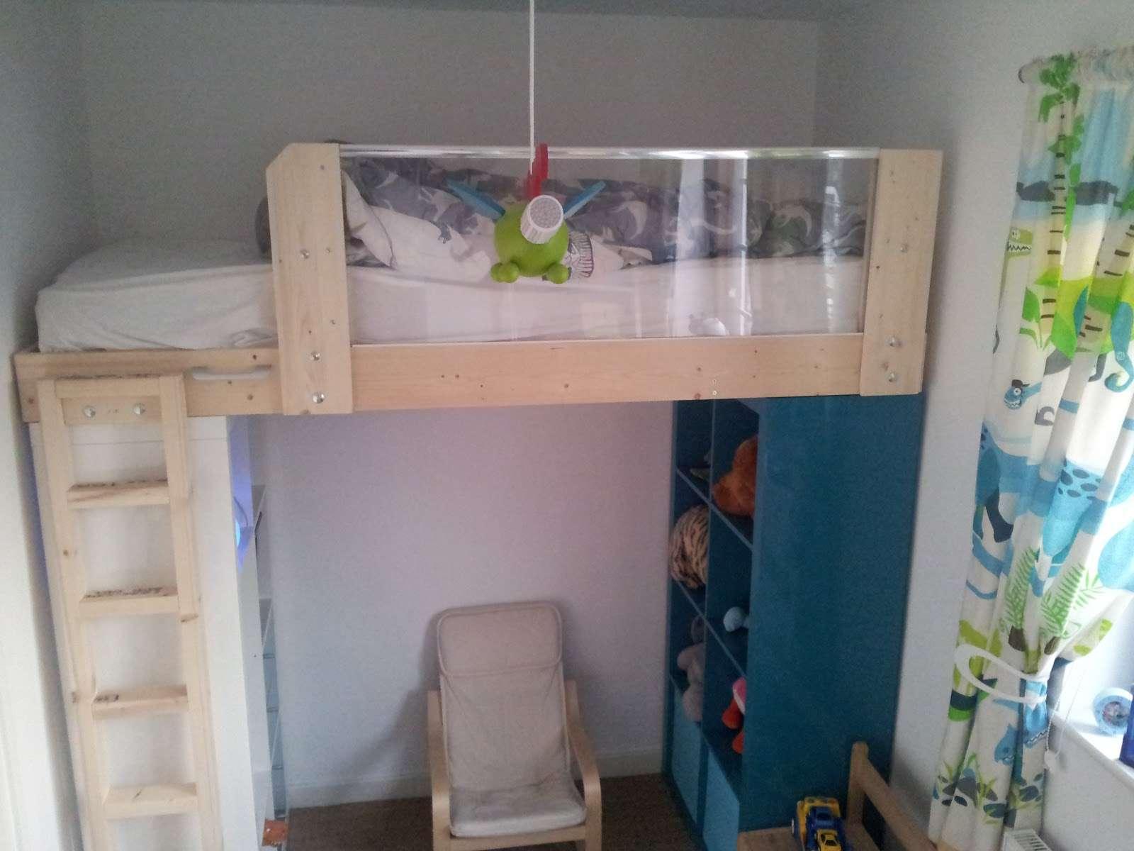 Expedit Loft Bed Ikea Hackers
