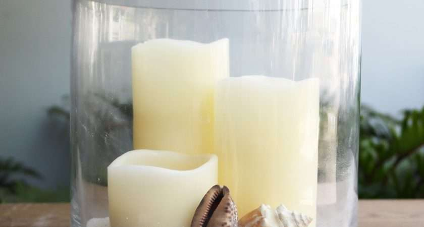 Extra Large Glass Hurricane Candle Holders Home Lighting
