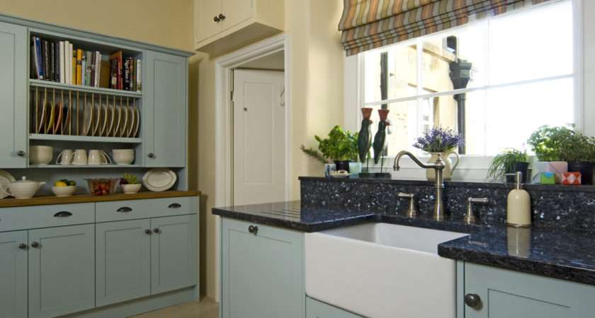 Extraordinary Duck Egg Blue Country Kitchen Other