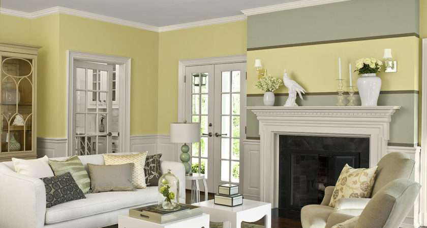 Eye Catching Living Room Color Schemes Modern