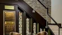 Eye Catching Under Stairs Wine Storage Ideas