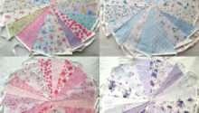 Fabric Bunting Wedding Vintage Shabby Chic Handmade