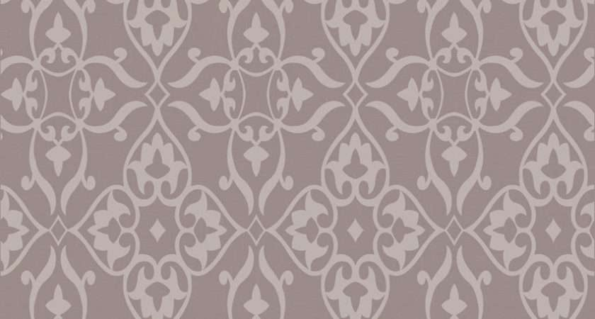 Fabric High Quality Flocking Wall Paper Modern