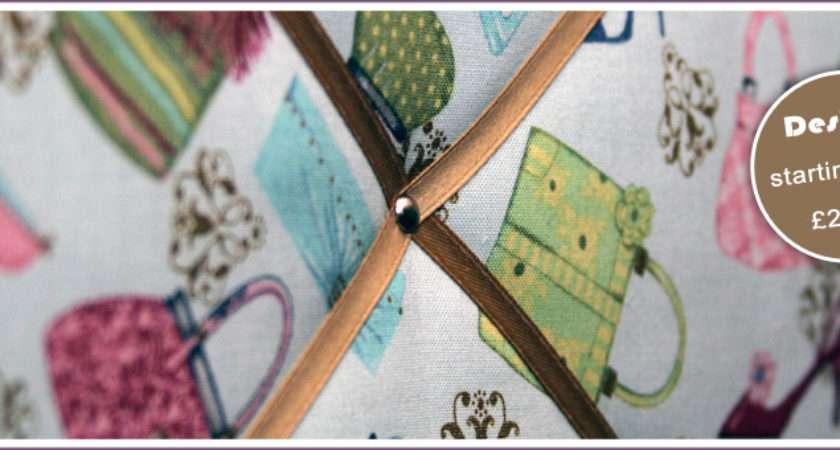 Fabric Memo Boards Notice Personalised