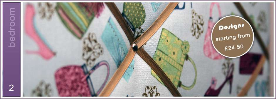 Fabric Memo Boards Notice Personalised