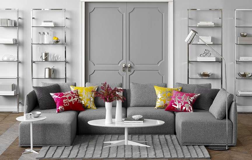 Modern Living Room Gray fabulous gray living room designs inspire decoholic - lentine