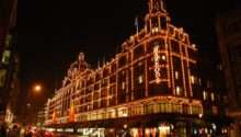 Fabulous London Harrods Temple Luxury Shopping