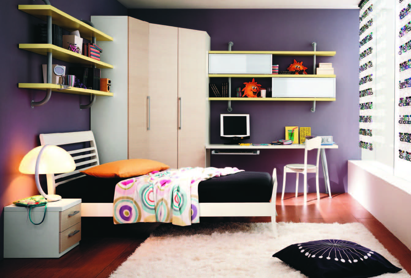 Fabulous Modern Themed Rooms Boys Girls