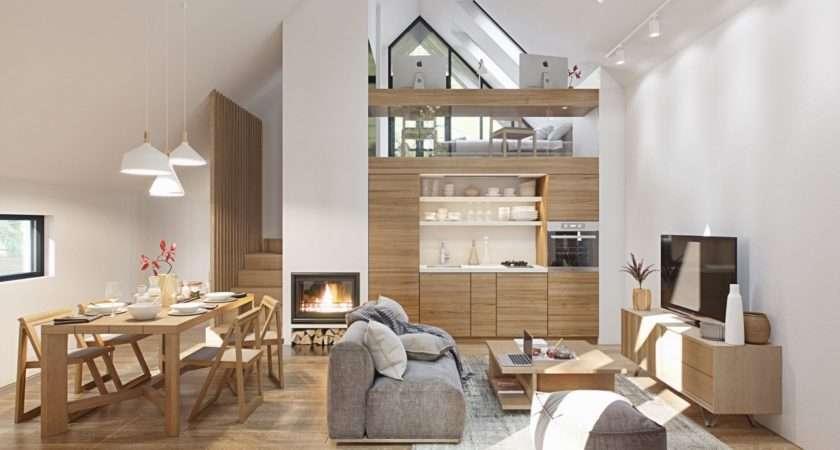 Fabulous Studio Apartments Arranged Stylish Loft