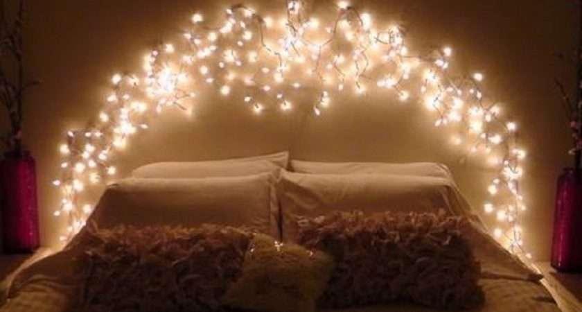 Fairy Lights Bedroom Headboard Ceiling Lighting