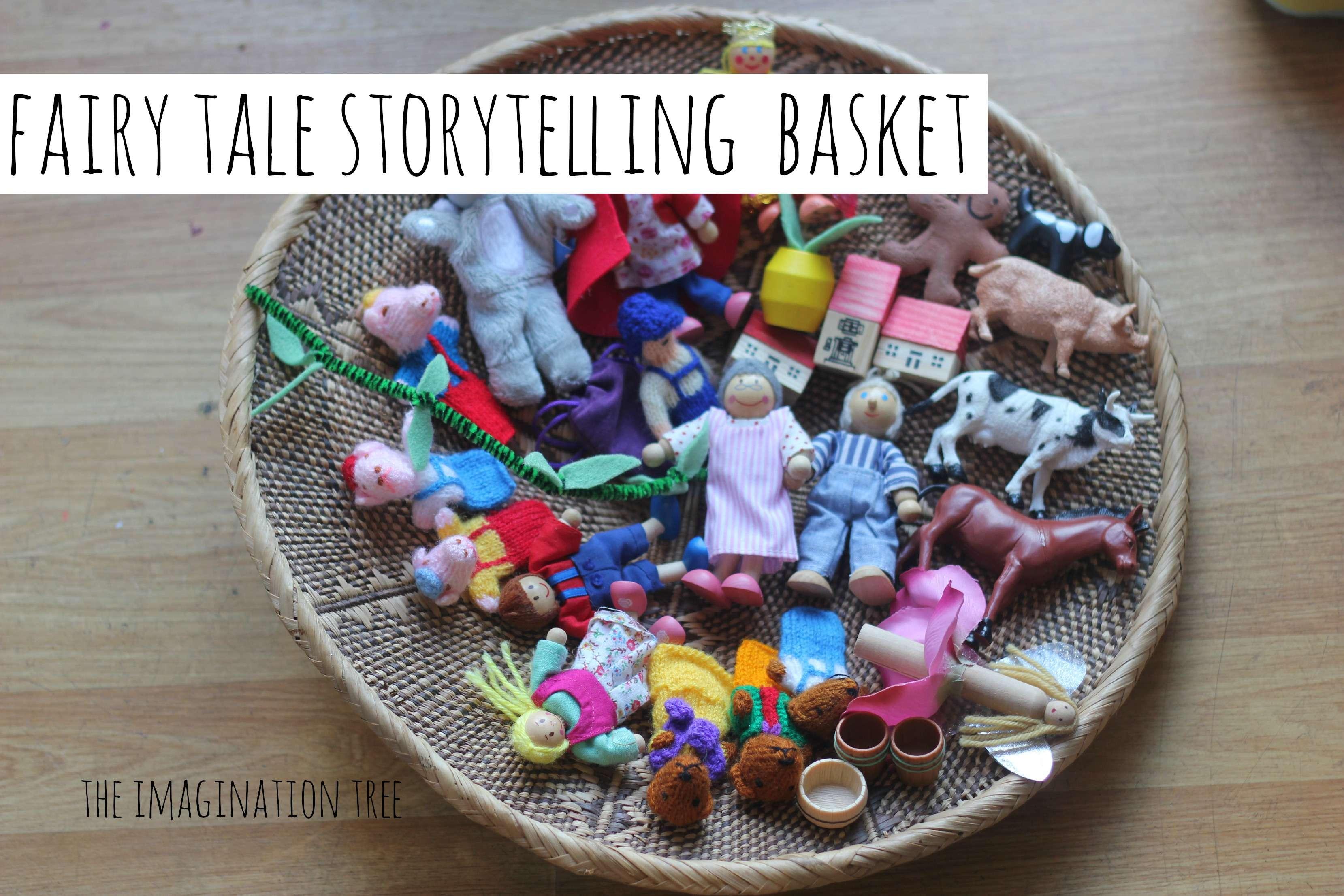 Fairy Tale Story Prop Basket