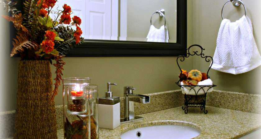 Fall Bathroom Decorating Ideas Diy Decor
