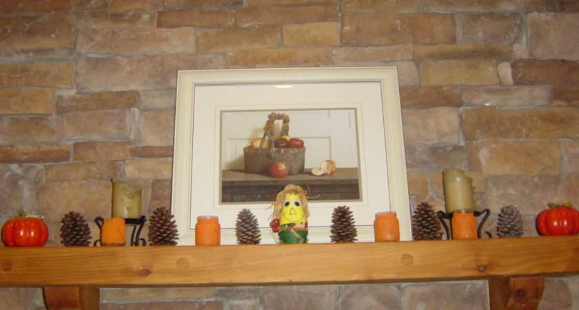 Fall Fireplace Mantel Display Kathy Hutto