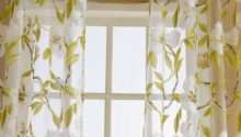 Fancy Home Window Curtain Tulle Floral Valance Voile