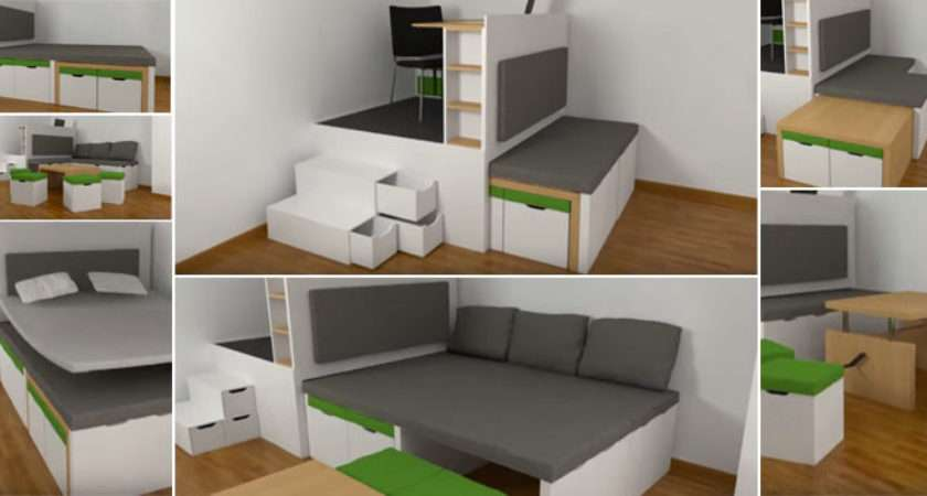 Fancy Ideas Space Saving Furniture Small Apartments