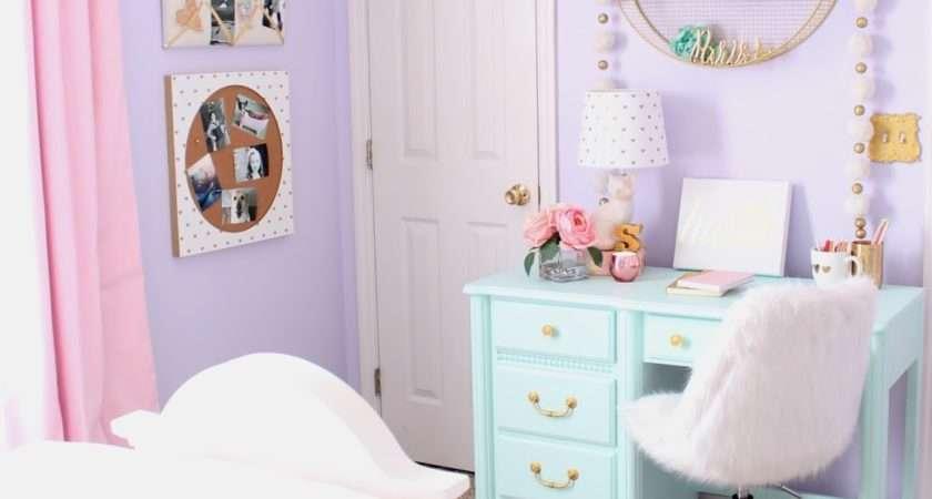 Fancy Shack Pastel Girls Room Makeover